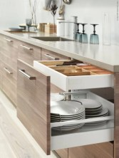 Smart kitchen cabinet organization ideas 17