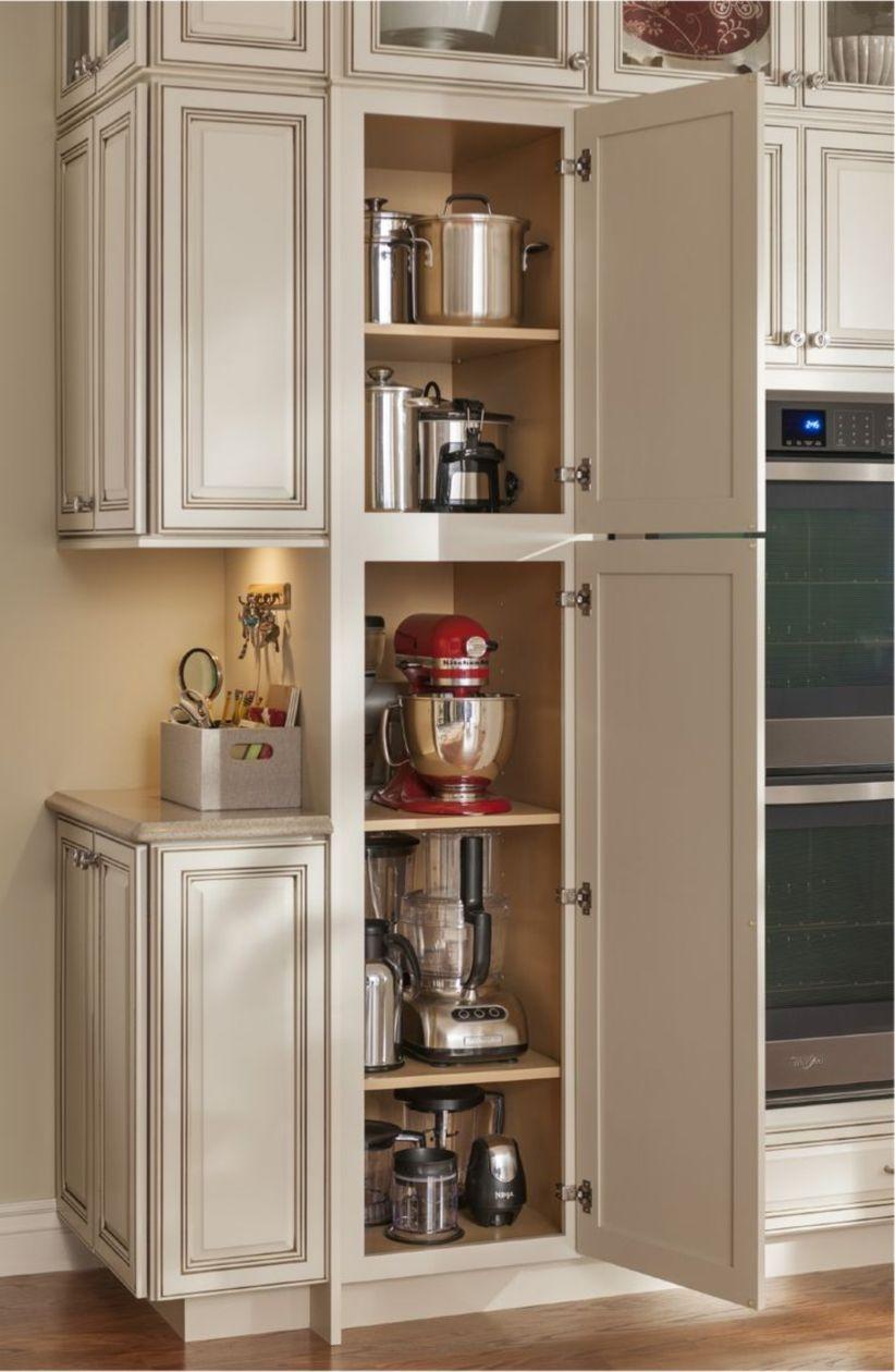 44 Smart Kitchen Cabinet Organization Ideas - GODIYGO.COM