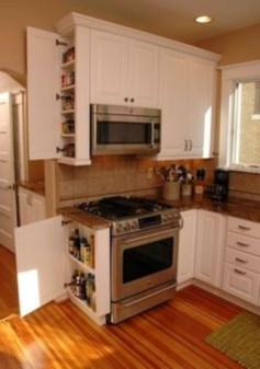 Smart kitchen cabinet organization ideas 21