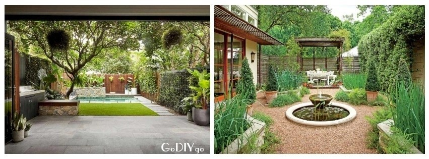 35 Beautiful Courtyard Garden Design Ideas - GODIYGO.COM