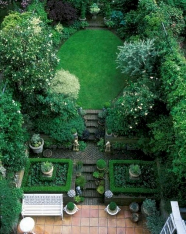 Beautiful courtyard garden design ideas 09