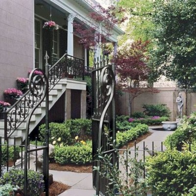 Beautiful courtyard garden design ideas 12