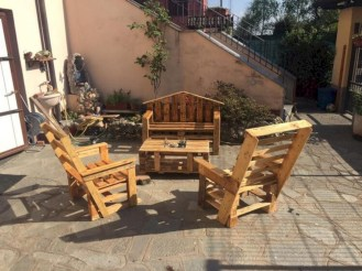 Best diy projects with pallet for your garden 05