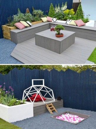 Best diy projects with pallet for your garden 08