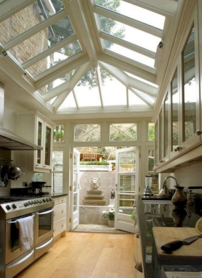 Best glass ceiling design ideas to enjoy the night sky 11