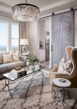 Boho rustic glam living room design ideas 17