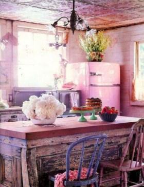 Boho rustic glam living room design ideas 24