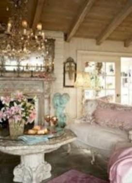 Boho rustic glam living room design ideas 36