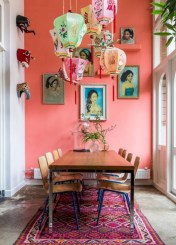Bright ideas for diy decor with bright color 21