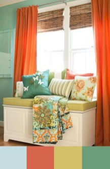 Bright ideas for diy decor with bright color 25