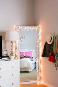 Clever ideas to makeover your mirror 28