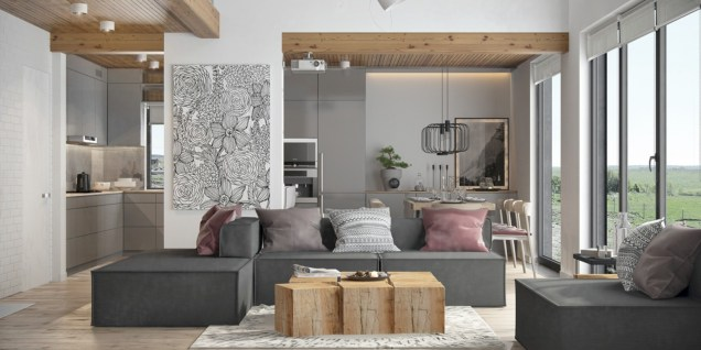 Cozy scandinavian-inspired loft 31