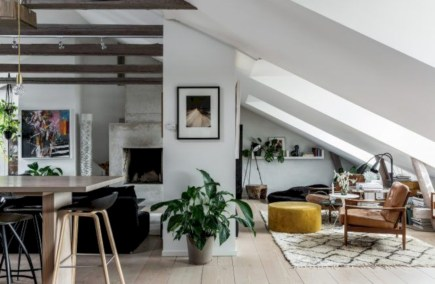 Cozy scandinavian-inspired loft 37