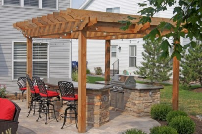 Creative pergola designs and diy options 16