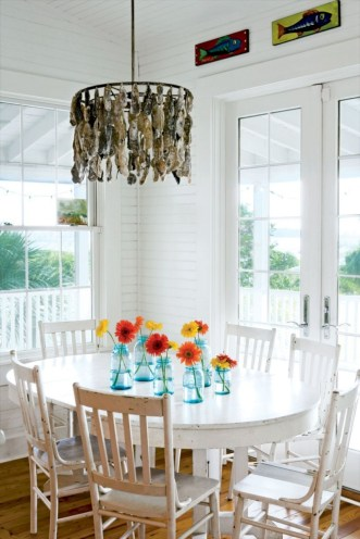 Creative ways to decorate your space with shells 02