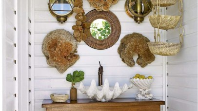 Creative ways to decorate your space with shells 12