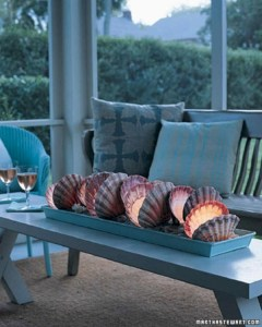 Creative ways to decorate your space with shells 21