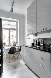 Gorgeous narrow kitchen with stunning details 10