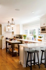 Gorgeous narrow kitchen with stunning details 11