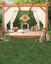 Inspiring diy backyard pergola ideas to enhance the outdoor 26