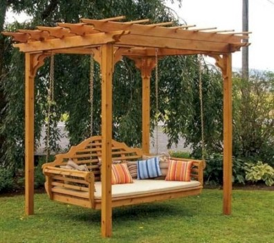 Inspiring diy backyard pergola ideas to enhance the outdoor 33