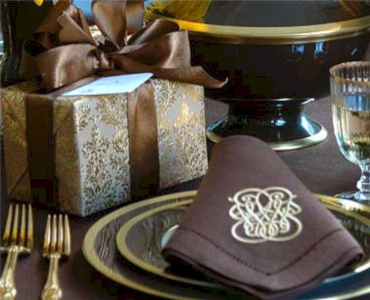 Most easiest diy napkins to adorn your dining table 04