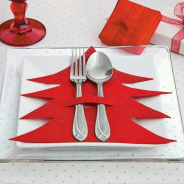 Most easiest diy napkins to adorn your dining table 14