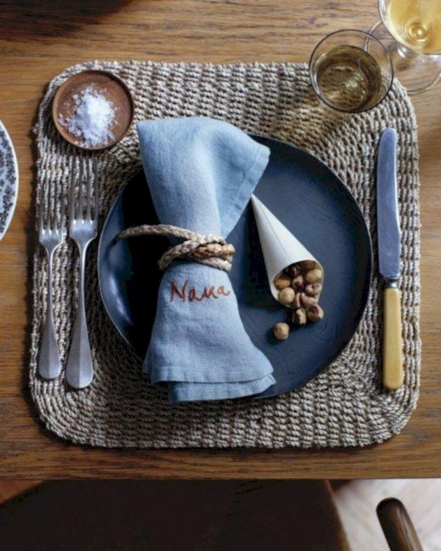 Most easiest diy napkins to adorn your dining table 20