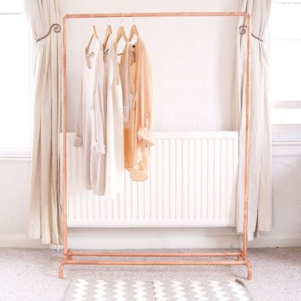 Stunning ideas to use copper pipes for your home decor 11