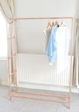 Stunning ideas to use copper pipes for your home decor 17