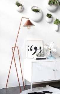 Stunning ideas to use copper pipes for your home decor 31