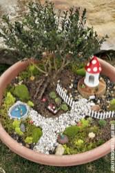 Super easy diy fairy garden ideas 11