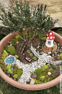 Super easy diy fairy garden ideas 11