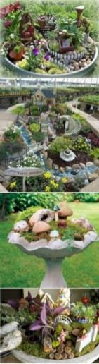Super easy diy fairy garden ideas 17