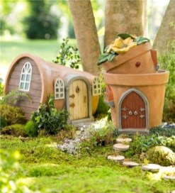 Super easy diy fairy garden ideas 28
