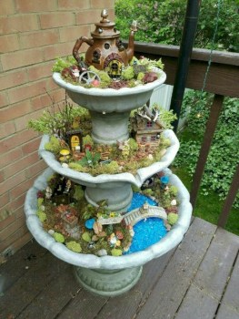 Super easy diy fairy garden ideas 32