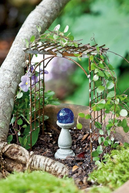 Super easy diy fairy garden ideas 36