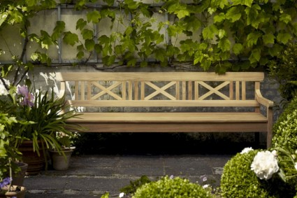 Teak garden benches ideas for your outdoor 04