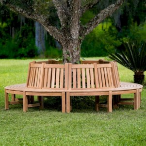Teak garden benches ideas for your outdoor 07