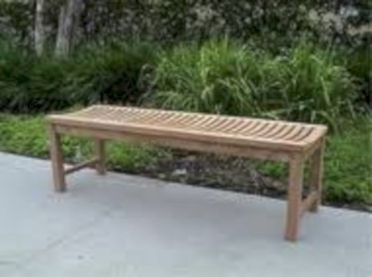 Teak garden benches ideas for your outdoor 09