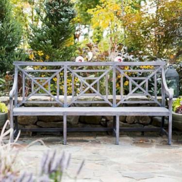 Teak garden benches ideas for your outdoor 10