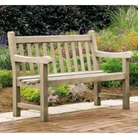 Teak garden benches ideas for your outdoor 19
