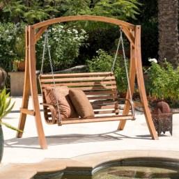 Teak garden benches ideas for your outdoor 20
