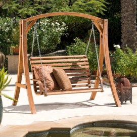 Teak garden benches ideas for your outdoor 20