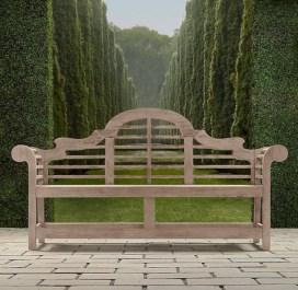 Teak garden benches ideas for your outdoor 26