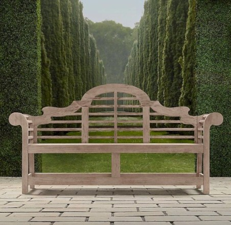 Teak garden benches ideas for your outdoor 26