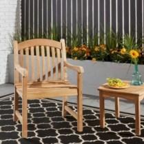 Teak garden benches ideas for your outdoor 32