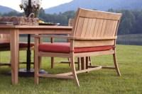 Teak garden benches ideas for your outdoor 37