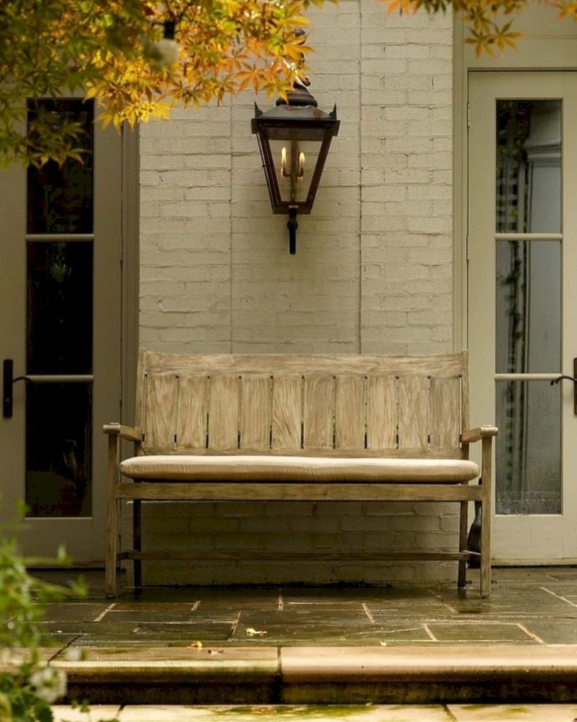 Teak garden benches ideas for your outdoor 39