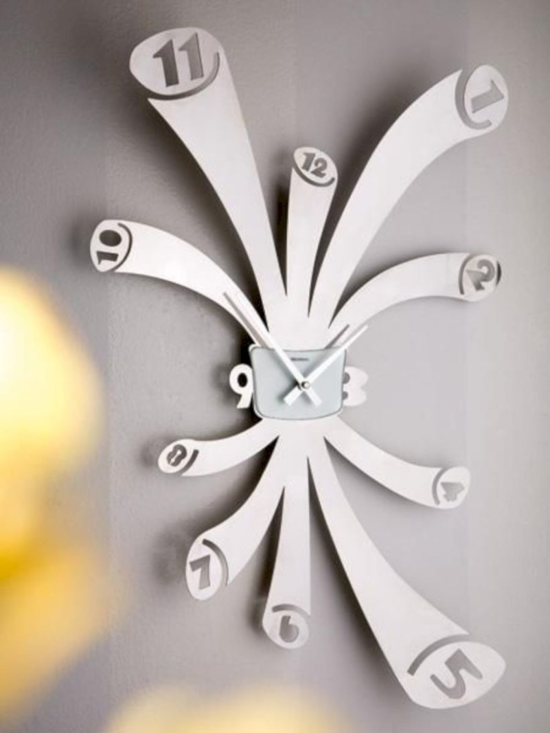 Unusual modern wall clock design ideas 35